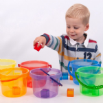 Translucent Colour Bucket Set 6 Pack